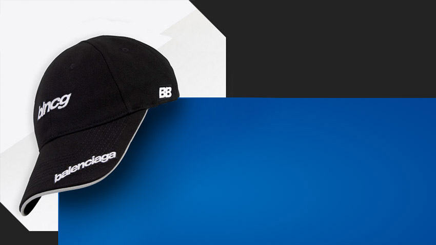 TOP3 Balenciaga caps