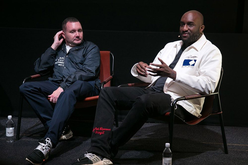 Kim Jones and Virgil Abloh